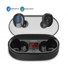 Wireless Earbuds, ANBES Bluetooth Headphones