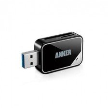 Anker 2-in-1 USB 3.0 SD Card Reader For SDXC, SDHC, SD, MMC, RS-MMC, Micro SDXC, Micro SD