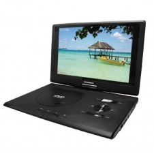 13.3-Inch Swivel Screen Portable DVD Player with USB/SD Card Reader