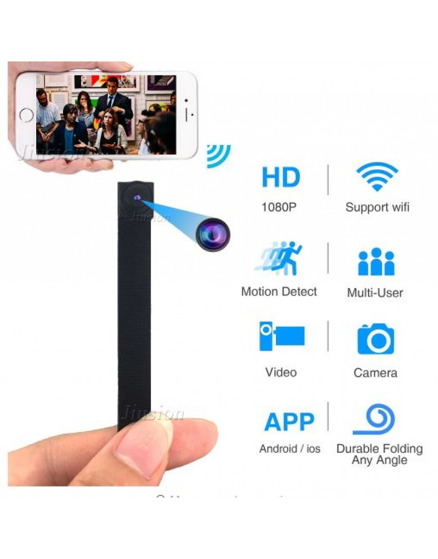 Mini WIFI Camera Motion Sensor Flexible Camcorder IP P2P Remote