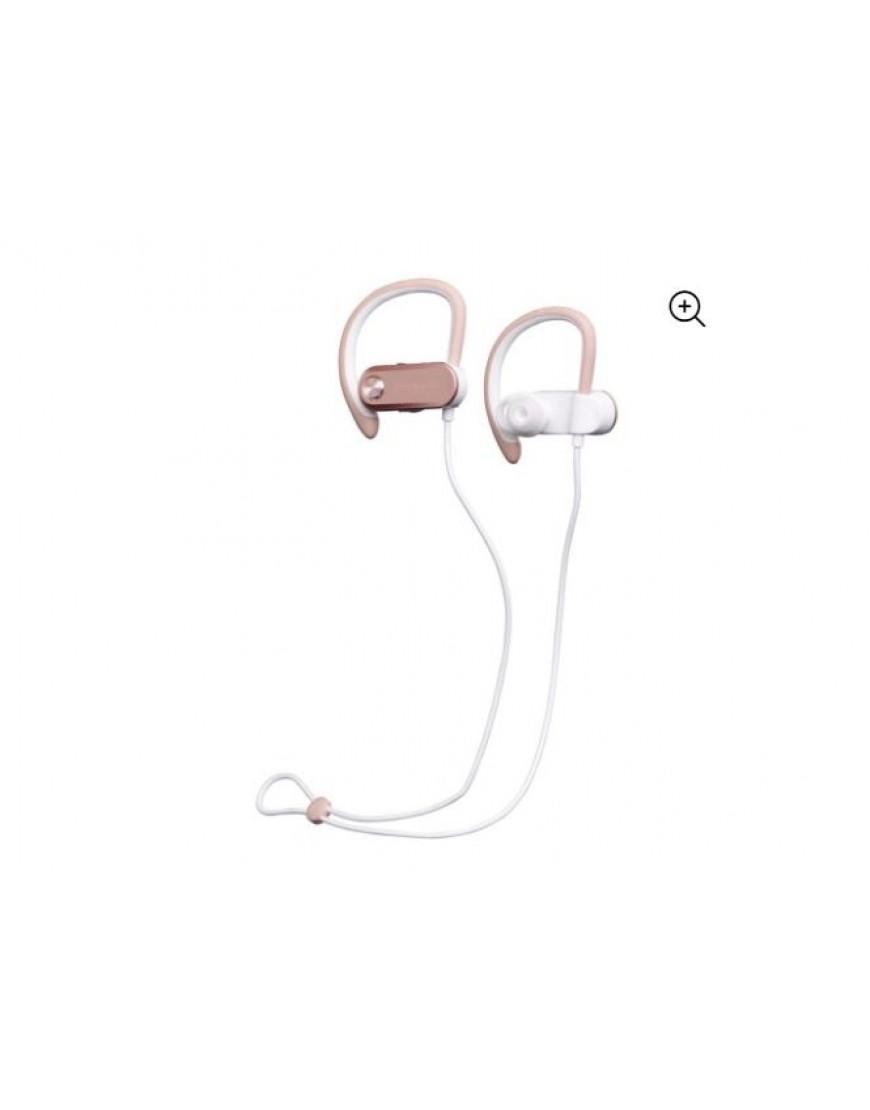 Blackweb Wireless Bluetooth Sport Earbuds, Rose Gold