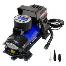 12V DC Portable Air Compressor Pump, Digital Tire Inflator