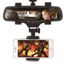 Car Phone Holder Car Rearview Mirror Mount 360 Degrees