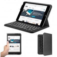 Bluetooth Folio Keyboard Case For Ipad Mini 3 / Mini 2 / Mini