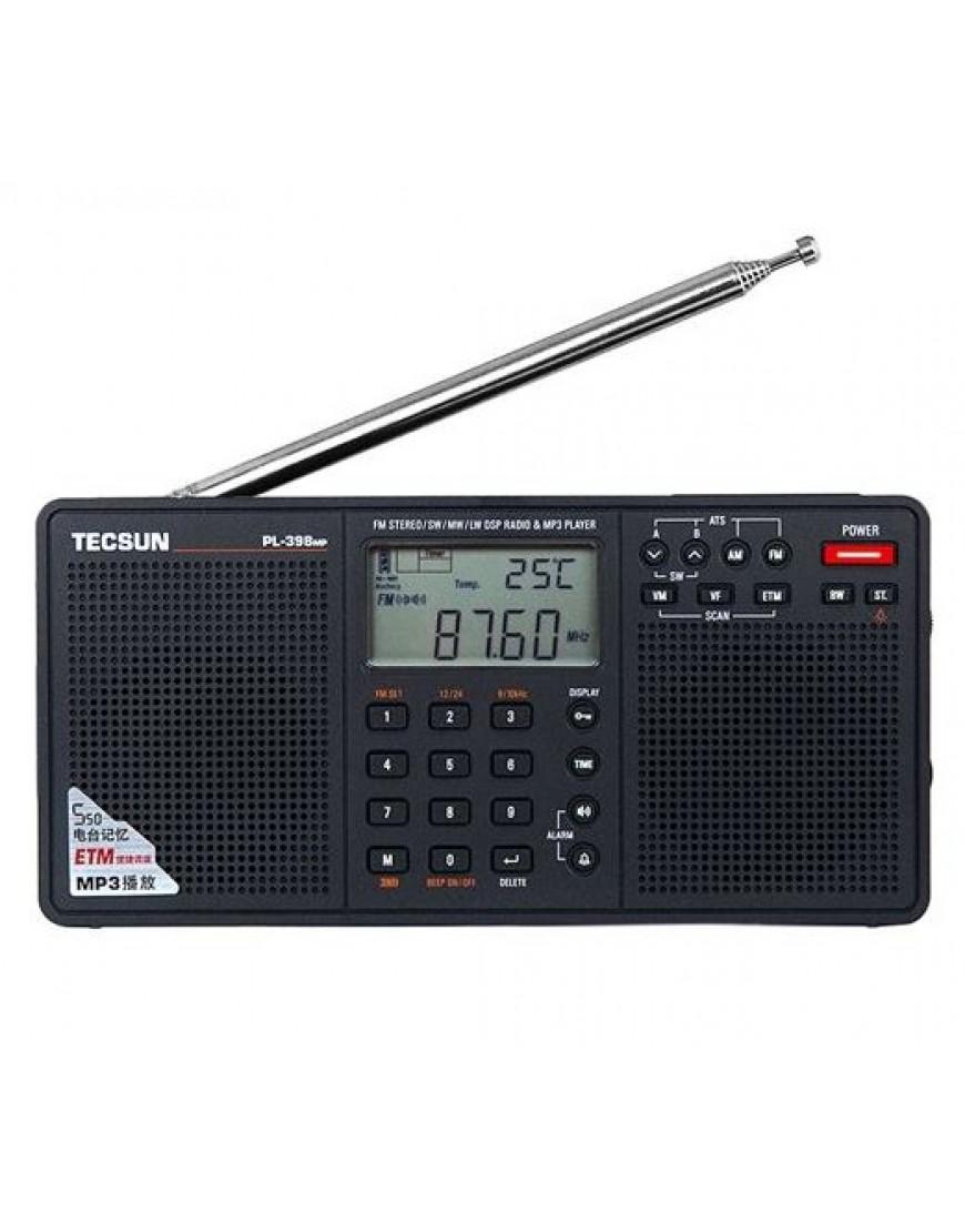 4b1e2aa871c Tecsun Digital AM/FM/LW Shortwave Radio with Dual Speakers & MP3 Player