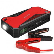 Portable Car Jump Starter 600A Peak 18000mAh  (up to 6.5L Gas, 5.2L Diesel Engine) Battery Booster and Phone Charger