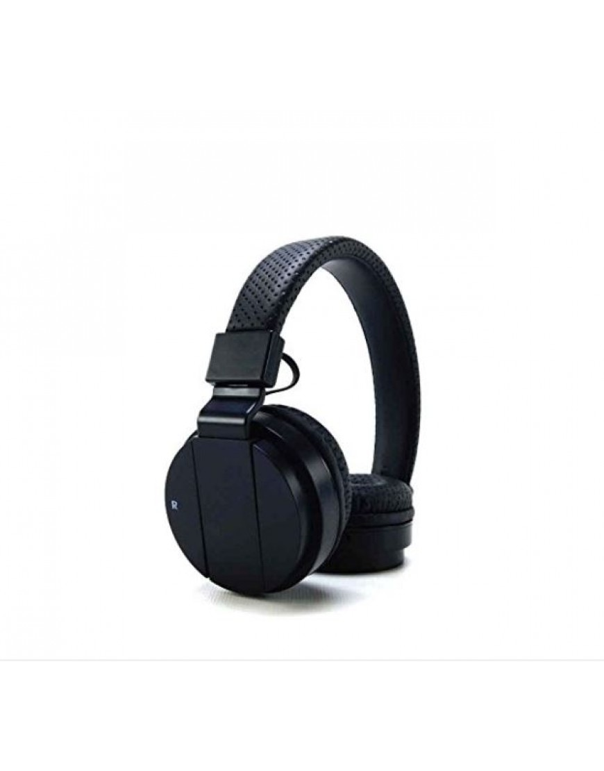 Wireless On-Ear Rechargeable Headphones with Bluetooth Audio