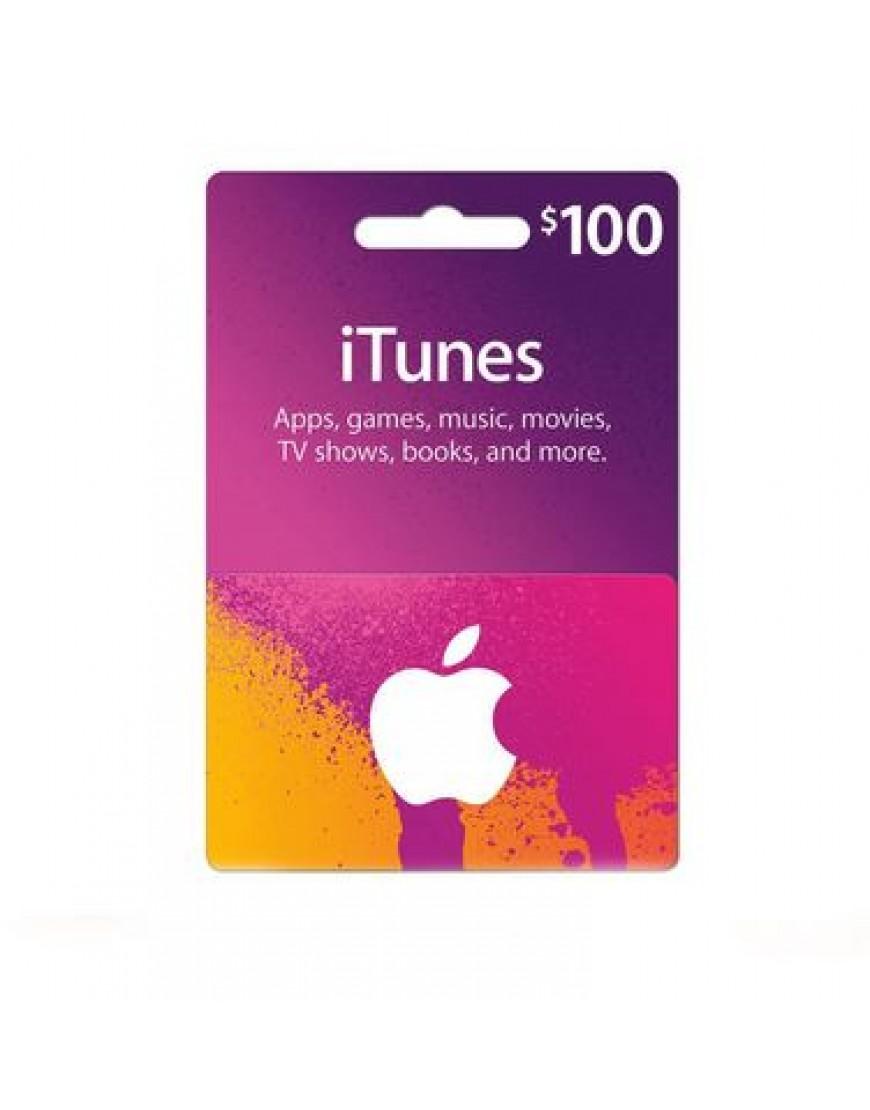 apple itunes gift cards 100. Black Bedroom Furniture Sets. Home Design Ideas