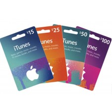 Apple iTunes Gift Cards $10 | $15 | $25 | $50 | $100